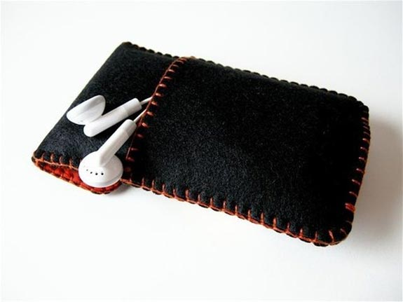 Rotary Retro Felt iPhone Case