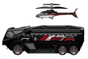 Geek Toys – Silverlit Heli Mission SWAT Truck