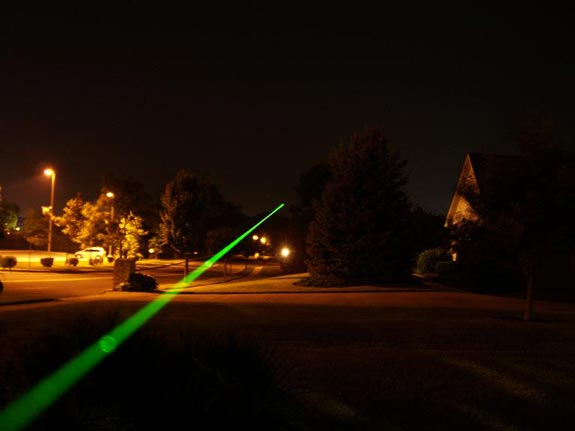 Sky Lasers 125mW Laser Pointer Review
