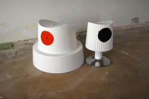 Spray Can Cap Chairs