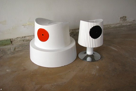 Design - Spray Can Cap Chairs