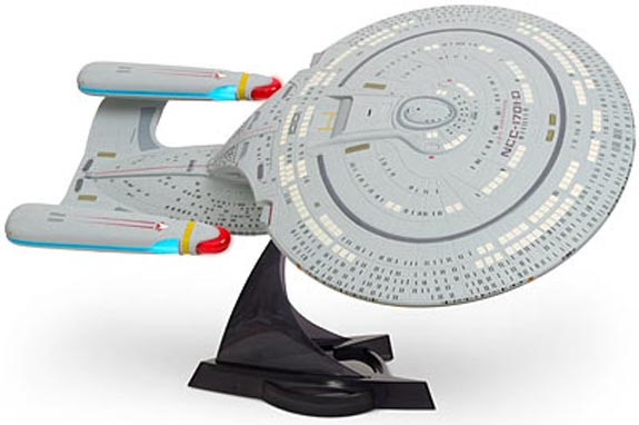Geek Toys - Star Trek Enterprise 1701-D