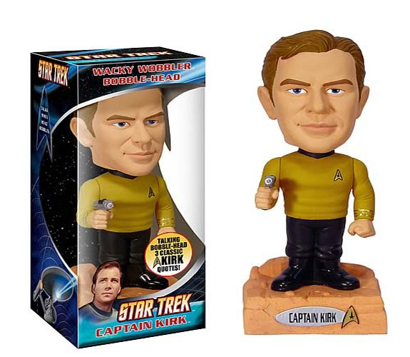 Star Trek Talking Bobble Heads