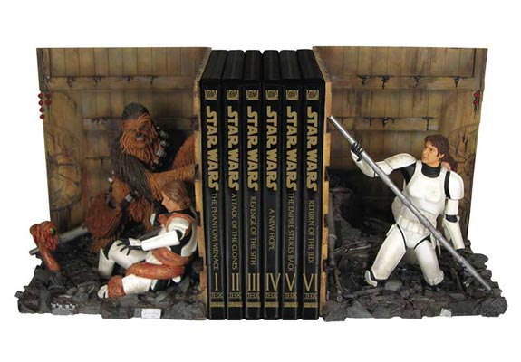 Star Wars Trash Compactor Bookends
