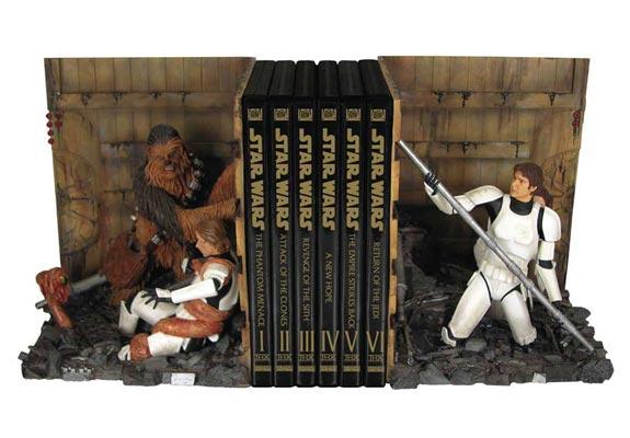 Star Wars Trash Compactor Bookends