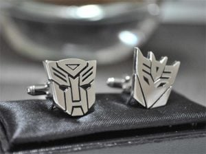 Geek Accessories – Transformers Cufflinks