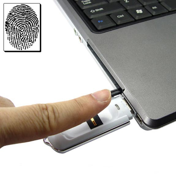 USB Fingerprint Security Flash Drive