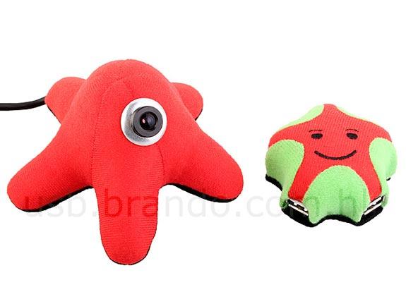 USB Starfish Web Cam + 4 Port Hub