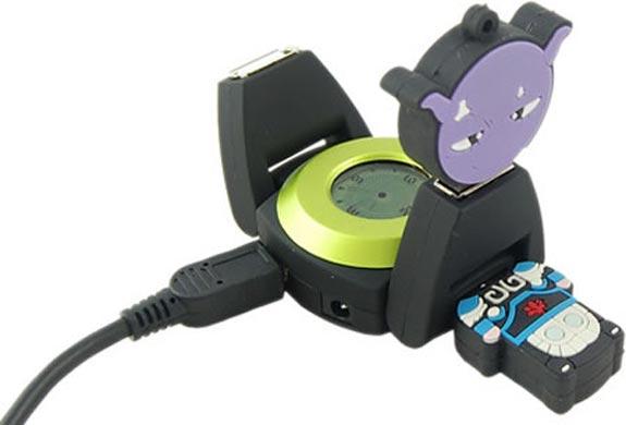 4 Port Watch USB Hub