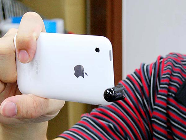 Flexible Mini Capsule iPhone 3GS Microphone