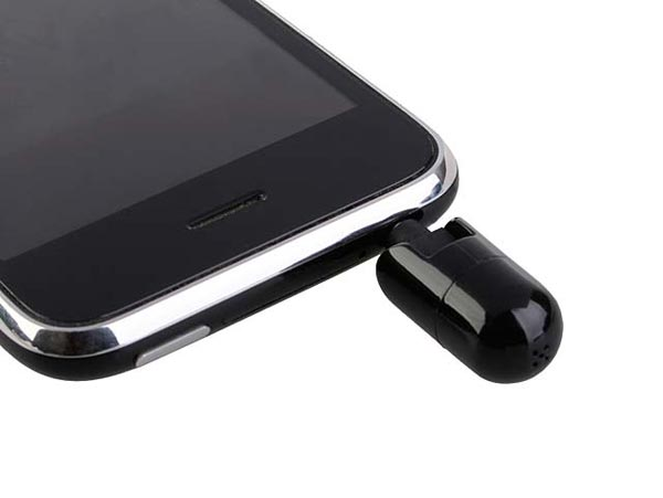 Flexible Mini Capsule iPhone 3GS Microphone