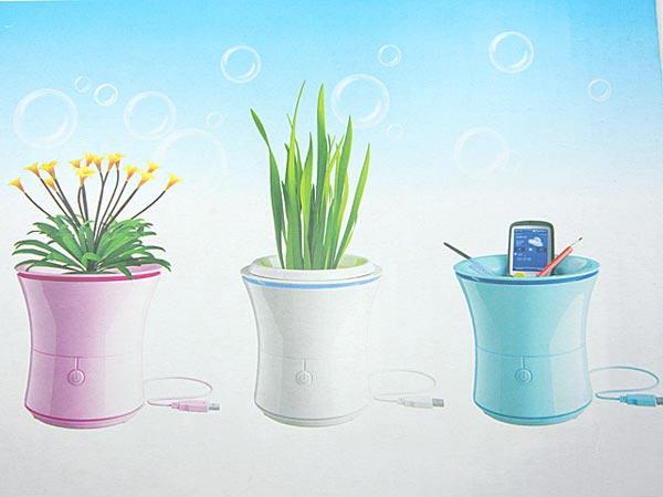 Flowerpot USB Air Purifier