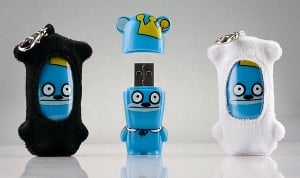 Mimobot Bossy Bear USB Flash Drives