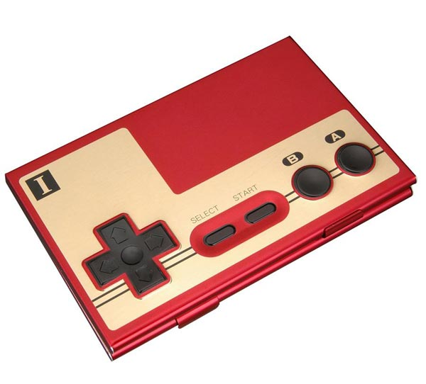 NES Controller Business Card Case