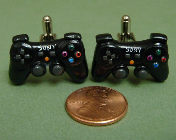 PlayStation 3 Controller Cufflinks