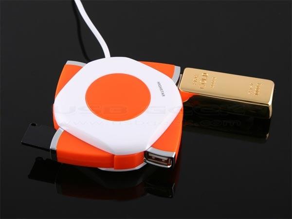USB Spinning Hub