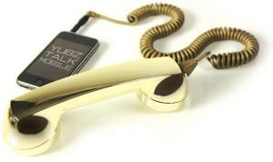 Yubz Retro Gold iPhone Handset