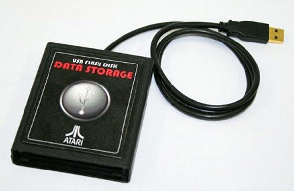 Atari Cartridge Flash Drive
