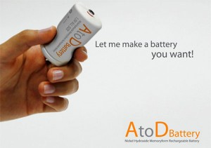 Memory foam battery concept fits all devices