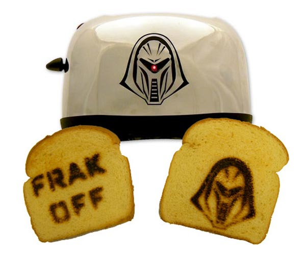Battlestar Galactica LED Toaster