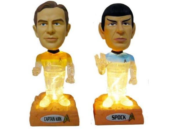 Beam Me Up Star Trek Bobble Heads