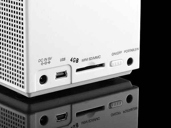 Cube Multimedia Player Speaker