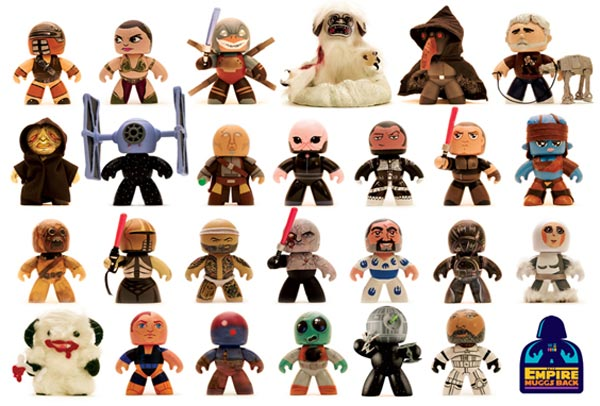 Custom Star Wars Mighty Muggs Being Auctioned For Charity