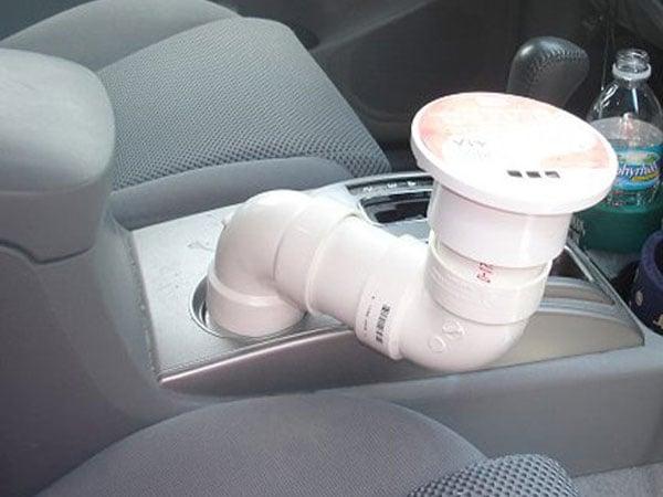 Держатель для ноутбука в машину своими руками