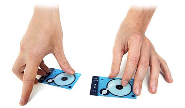 Plastinkuzz DJ Scratch Card