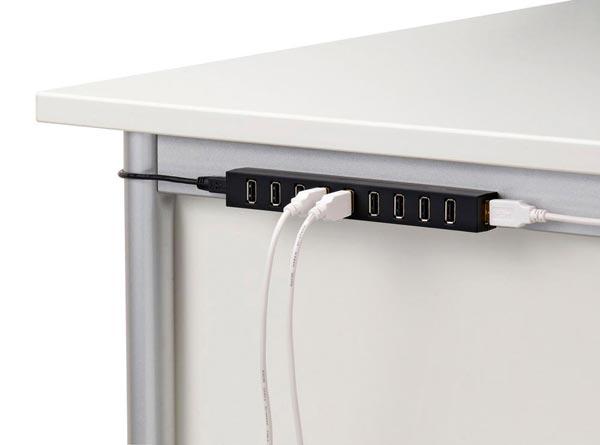 Elecom Compact 10 Port Usb Hub