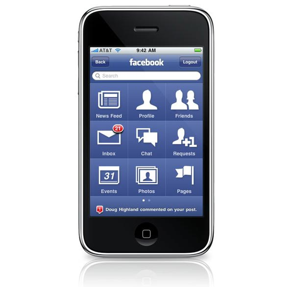 Facebook 3.0 iPhone App