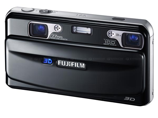 Fujifilm FinePix Real 3D W1 Gets Official
