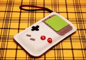 Felt Game Boy iPhone Case