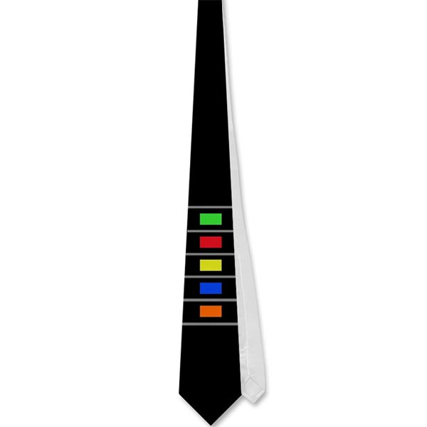 Guitar Hero Neck Tie