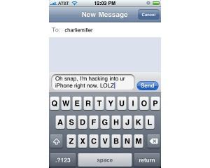 iPhone SMS Vulnerability revealed tomorrow