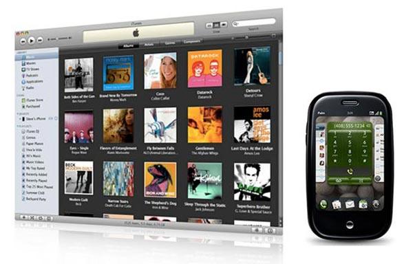 iTunes 8.2.1 Remove Palm Pre Syncing