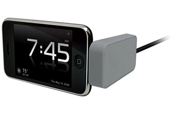 kensington nightstand iphone charging dock 1 Iphone Clock Radio taken to the next level