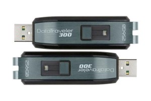 Kingston Data Traveler 300 – The World's First 256GB USB Drive