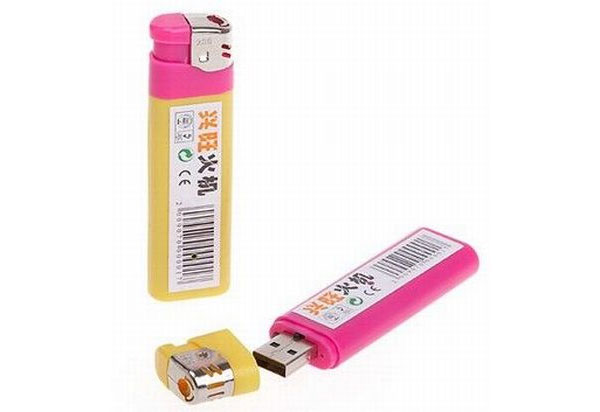 lighter-USB-drive-and-camera
