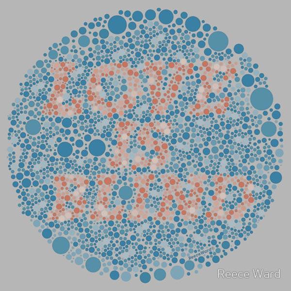 Love is Blind T-Shirt by Reece Ward