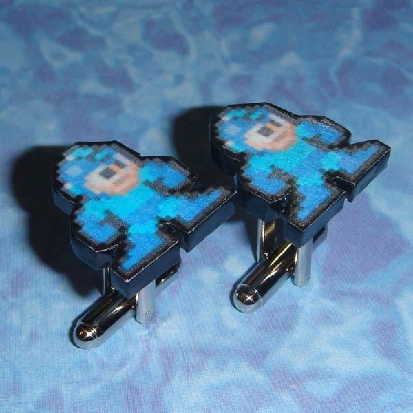 Mega Man Cufflinks