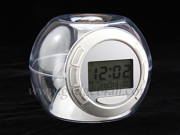 Multi Colored Sphere Alarm Clock