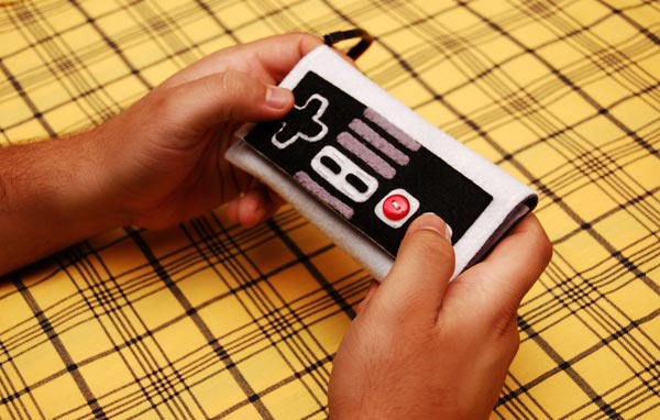 NES Controller Felt iPhone Case