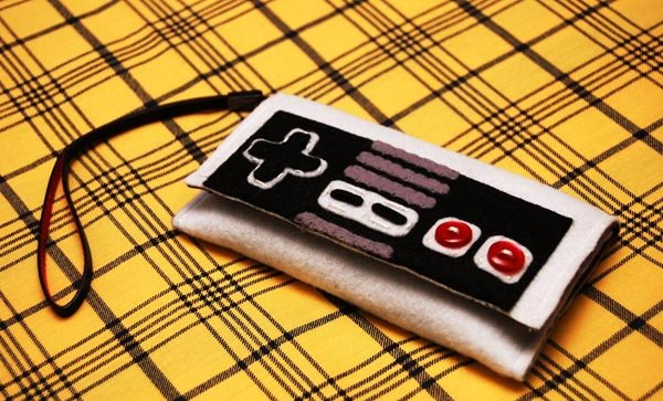 NES Controller Felt iPhone Case