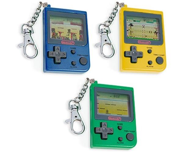 Nintendo Mini Classics Keychains
