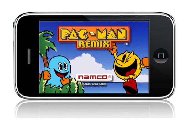 pac-man remix iphone