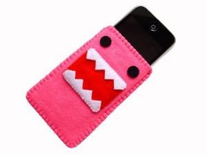 Pink Domo Kun iPhone Case