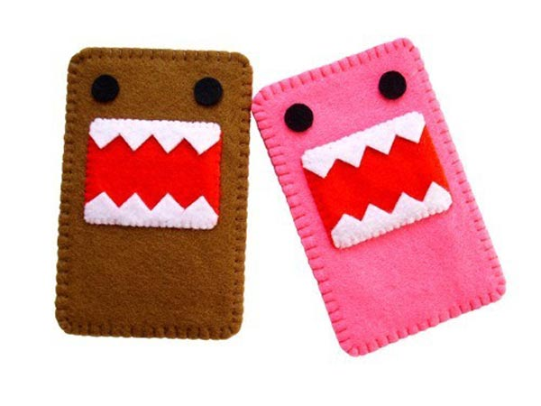 Pink Domo Kun iPhone Case