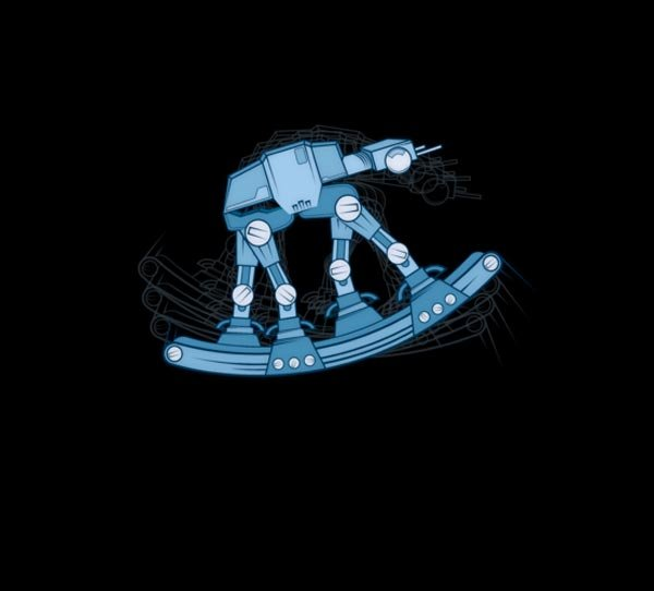 Rocking AT-AT T-Shirt