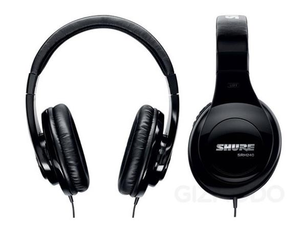 Shure SRH Over Ear Headphones
